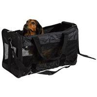 Trixie torba do transportowania psa lub kota czarna duża (28851) 54cm