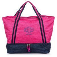 Duża torba damska na siłownię różowa Jennifer Jones