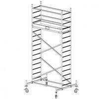 Rusztowanie ruchome aluminiowe protec 5,3 m marki B2b partner
