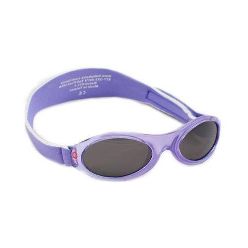Okulary przeciwsłoneczne dzieci 0-2lat UV400 BANZ - Lilac Spring Flower (9330696010191)
