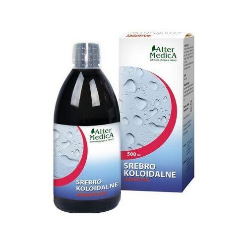 Srebro koloidalne tonik 300 ml + 200 ml Altermedica - pomaga utrzymać odporność Kurier: 13.75, odbiór osobisty: GRATIS! (5907530440298)