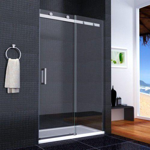 Rea Nixon-2 drzwi prysznicowe 120x190, szkło transparentne + powłoka easy clean