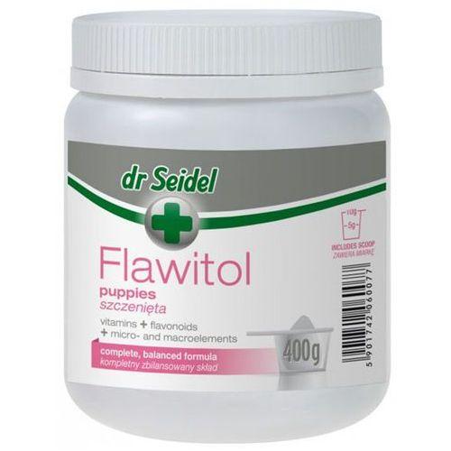 Proszek Flawitol witaminy dla szczeniąt proszek 400g
