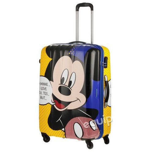 ba41e5a3166fb Walizka duża American Tourister Disney Legends - mickey pop - foto Walizka  duża American Tourister Disney
