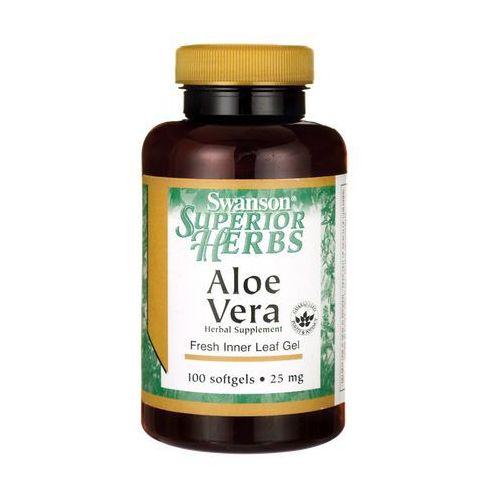 Kapsułki Swanson Aloe Vera (Aloes) extract 25mg 100 kaps