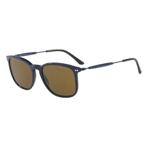 Okulary Słoneczne Giorgio Armani AR8098 559173, kolor żółty