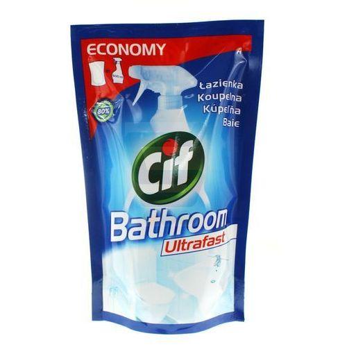 Cif łazienka Płyn Do Czyszczenia Ultrafast Zapas 500 Ml