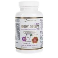 Progress Labs Kwas foliowy Methylo Folian 400 µg - 120 kapsułek (5906660414537)