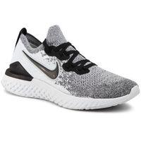 Buty NIKE - Nike Epic React Flyknit 2 BQ8927 102 White/Black/Pure Platinum