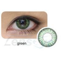 Okolook Cool look, 2 szt. - 2-tone green + gratis płyn