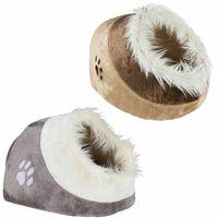 Trixie minou budka dla kota - dł. x szer. x wys.: 41 x 35 x 26 cm, beżowo/brązowa (4011905036281)