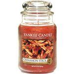 Yankee home Świeca yankee słoik duży cinnamon stick - ysdcs1 (5038580000054)