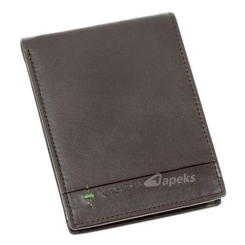 marte 41 1151 44 portfel skórzany męski - brązowy marki Roncato