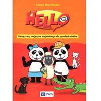 Hello Kids Karty pracy do języka angielskiego dla przedszkolaków, Kosińska Anna