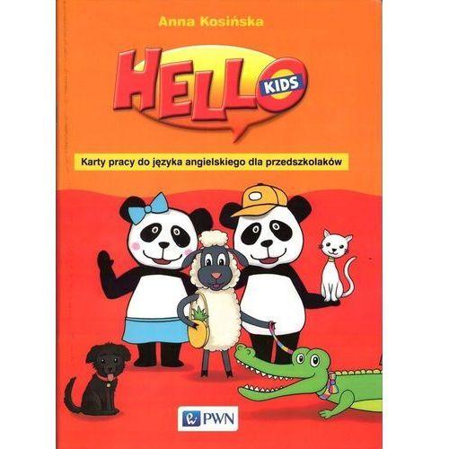 Hello Kids Karty pracy do języka angielskiego dla przedszkolaków, WYDAWNICTWO SZKOLNE PWN