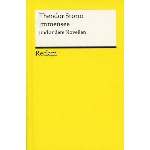 Immensee und andere Novellen Storm, Theodor