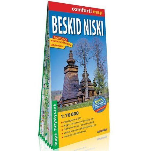 Beskid Niski. Mapa turystyczna 1:70 000 (2 str.)