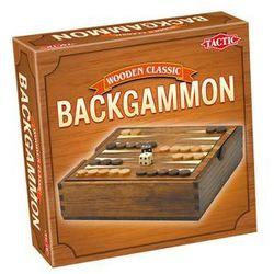 Gra TACTIC Backgammon Wooden Classic 14026