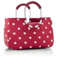 Reisenthel - torba na zakupy loopshopper m - ruby dots