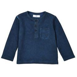 Koszulka z wycięciem szyi z pęknięciem i długim rękawem 1 miesiąc - 3 lat marki La redoute collections