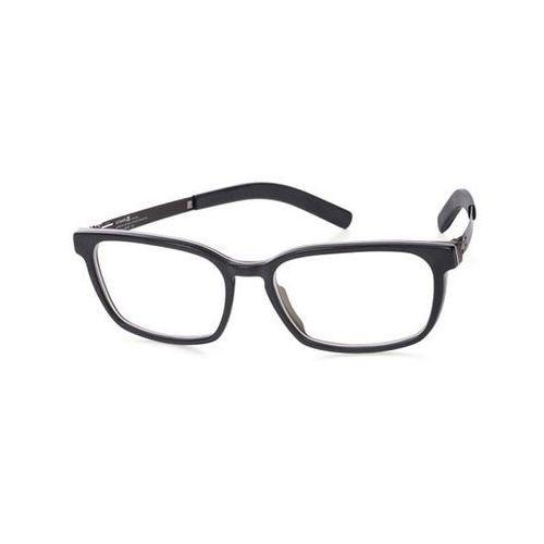 Ic! berlin Okulary korekcyjne a0635 nguyet n. espresso-matt