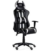 Fotel DIABLO CHAIRS X-One Horn Czarno-biały