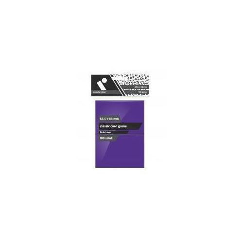 Koszulki CCG fioletowe 63,5x88 (100sztuk) REBEL (5902650613034)