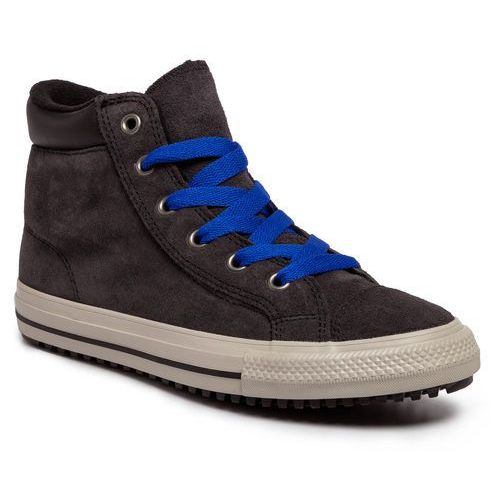 Converse Tenisówki - ctas pc boot hi 665161c almost black/blue/birch bark