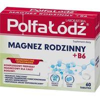 Tabletki Magnez rodzinny + B6 x 60 tabletek
