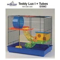 Inter-zoo klatka dla chomika teddy lux - gino 1 z tunelami