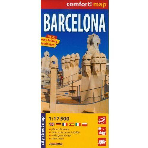 Barcelona mapa laminowana 1:17 5000 Expressmap (2013)