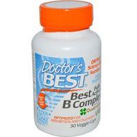 Witamina B Complex Doctor's Best | 30 kapsułek