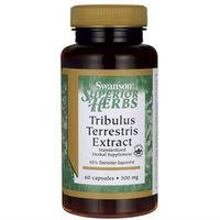 Buzdyganek standaryzowany Tribulus Terrestris extract 500mg 60 kapsułek SWANSON