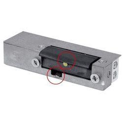 RYGIEL ELEKTROMAGNETYCZNY (ELEKTROZACZEP) RE-24G2 asymetryczny z pamięcią i wyłącznikiem 12V AC/DC z kategorii Akcesoria do drzwi