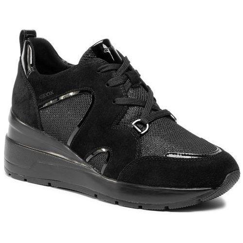 Sneakersy d zosma a d948la 022dv c9999 black, , 37 41 (Geox)