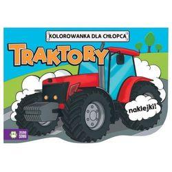 Traktory, kolorowanki dla chłopców - zielona sowa marki Praca zbiorowa