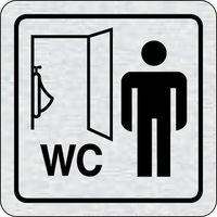 Tabliczka na drzwi -Pisuar WC męski