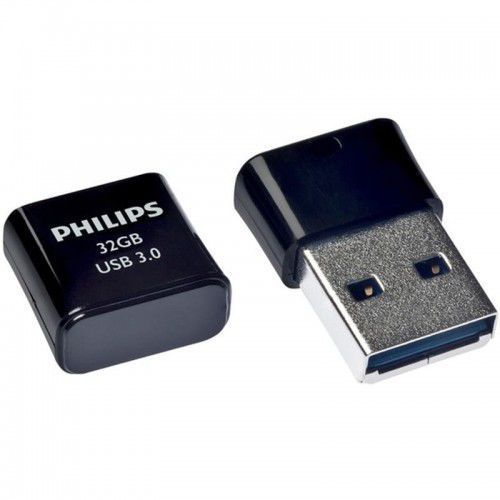 Philips Pendrive USB 3.0 32GB - Pico Edition (czarny), FM32FD90B/00