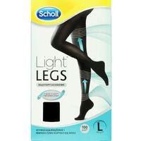 SCHOLL 1szt Light Legs L Rajstopy uciskowe przeciw żylakom 60 DEN czarne, 31580