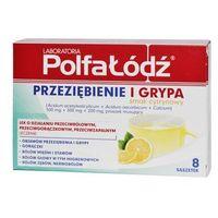 Przeziębienie i Grypa (Ascalcin) smak cytrynowy 8 saszetek