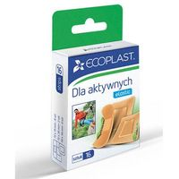 Alida sp. z o.o. Ecoplast zestawy plastrów opatrunkowych dla aktywnych x 16 sztuk