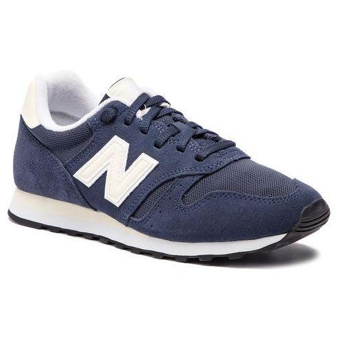 Sneakersy NEW BALANCE - WL373NVB Granatowy, kolor niebieski