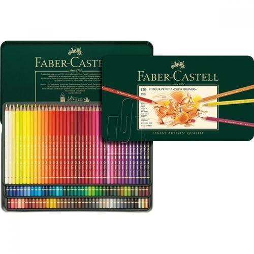 Faber-castell Kredki polychromos 120 kol. 110011 + gratis kredki polychromos 24 kol. - wysyłka 24h, produkt oryginalny
