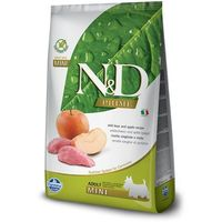 N&d dog no grain boar & apple - adult mini 7kg