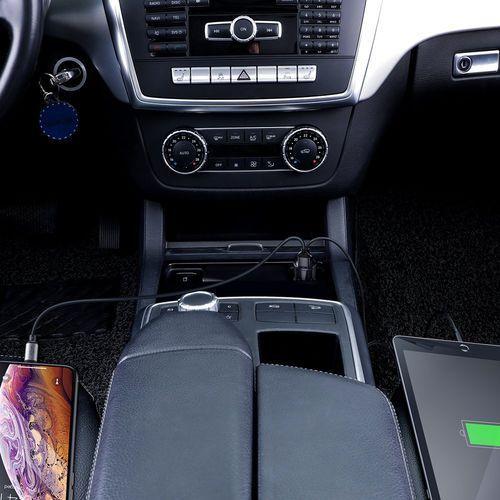 Magic Series Dual QC ładowarka samochodowa Quick Charge 3.0 2x USB 45W 6A czarny (CCMLC20A 01) Czarny (Baseus)