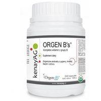 Orgen B - organiczny kompleks witamin z grupy B 240 kaps. (5900672152609)