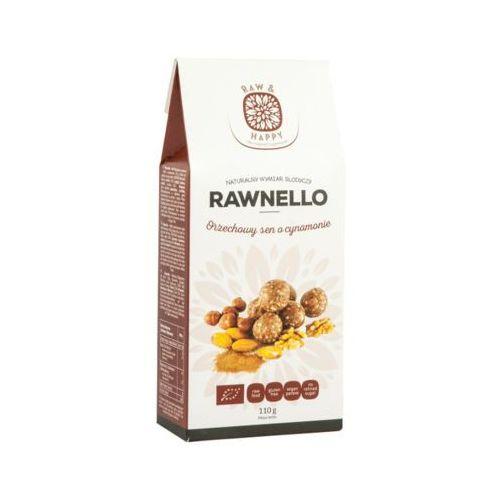 Rawnello 110g orzechowy sen o cynamonie przekąska bio