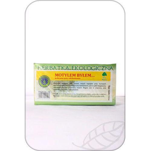 Herbatka motylem byłem ekologiczna miesz.zioł. - 20 toreb.a 2g marki Dar natury