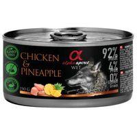 kurczak z ananasem 150g marki Alpha spirit