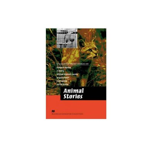 Macmillan Readers Literature Collections Animal Stories Advanced, oprawa miękka